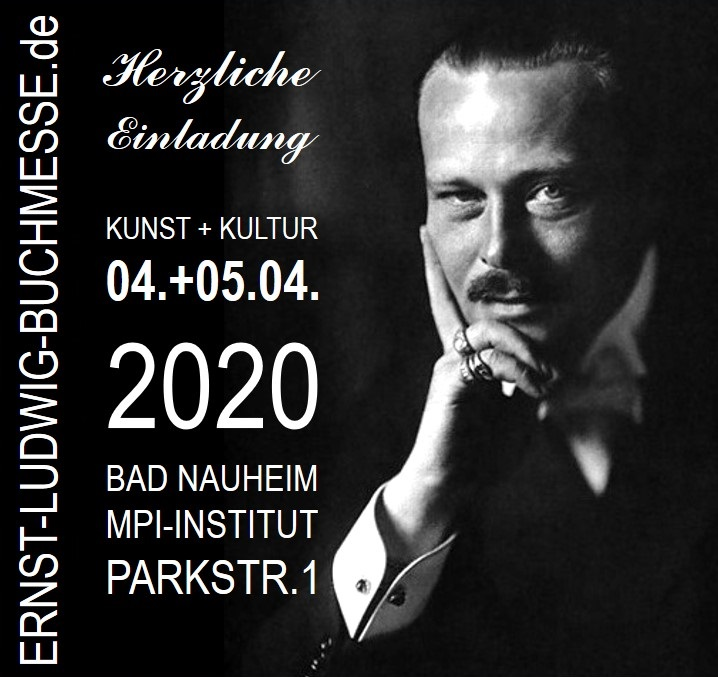 Plakat Ernst-Ludwig-Buchmesse 2019