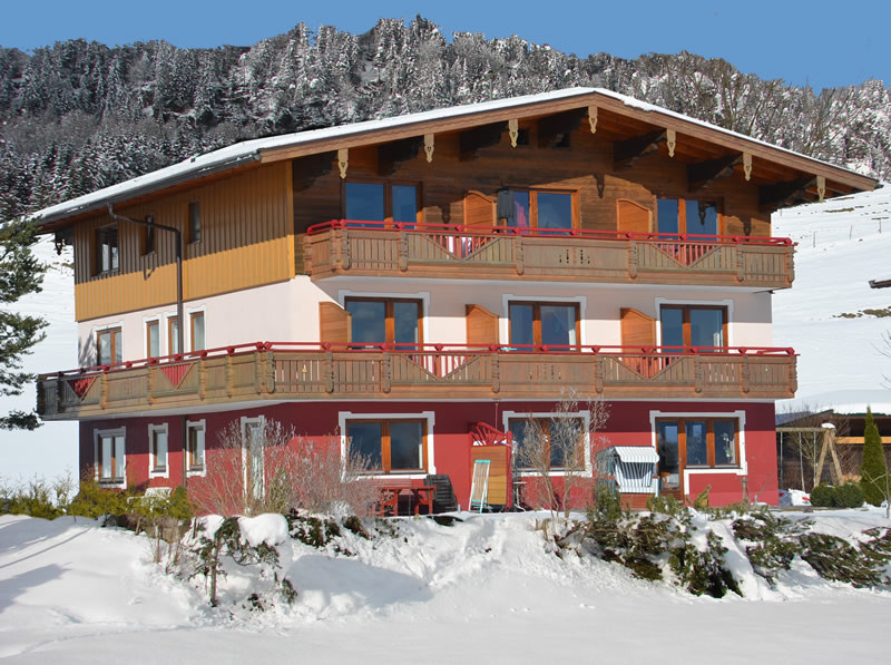 Pension Holzner im Winter