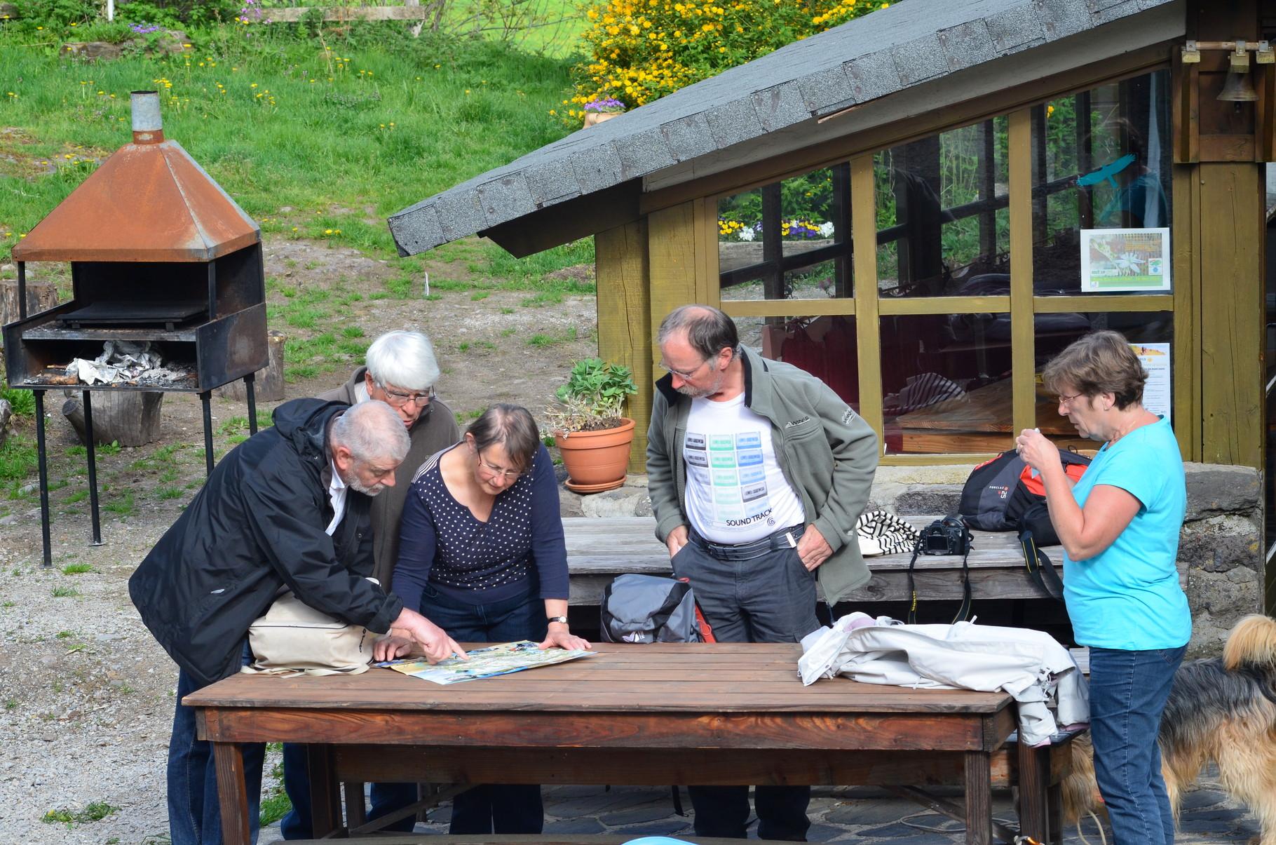 Dans le Cantal à la recherche d'un itinéraire