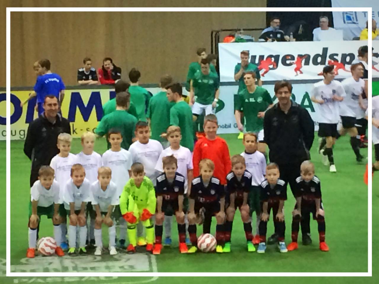 Spiel gegen FC Bayern München Sonnenland Cup in Passau
