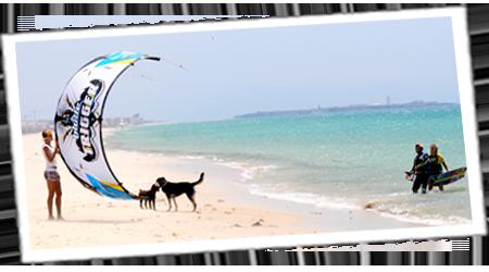 Kitesurfen mit Levante in Tarifa