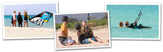Kitesurfen in Andalusien
