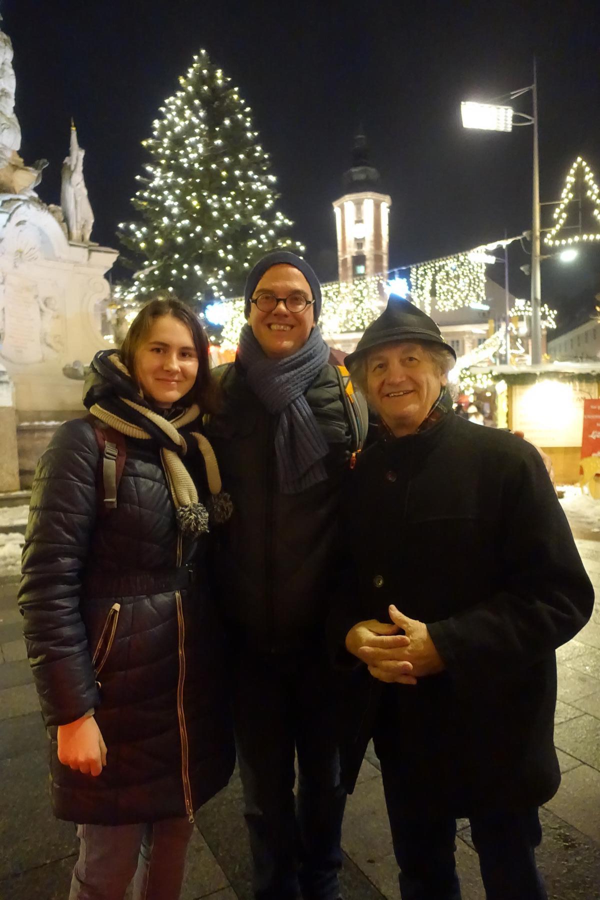 Nach dem Meeting in der Altstadt St. Pölten.