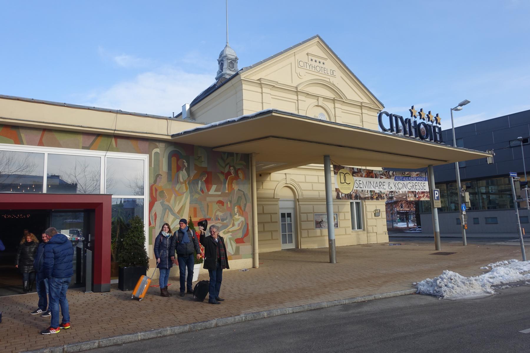 Das City Hotel D&C in St. Pölten, wo das Meeting stattfand.