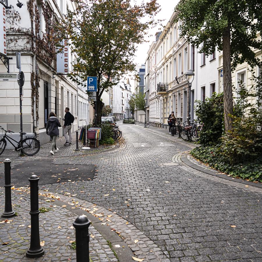 Paulstraße in der Altstadt