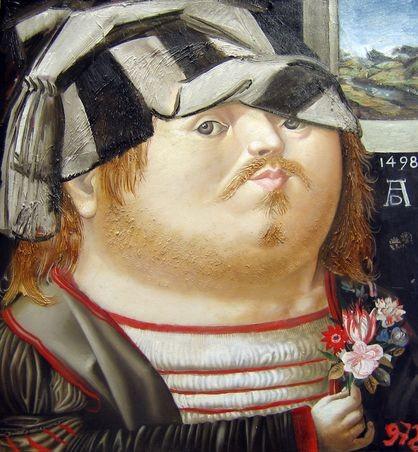 Портрет Дюрера.      2006 г. Холст, масло. 41х38 см.