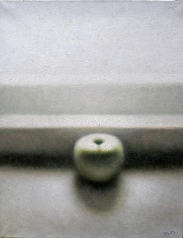 Юрий Первушин.    Яблочный спас.    2007 г. Холст, масло.65х50 см