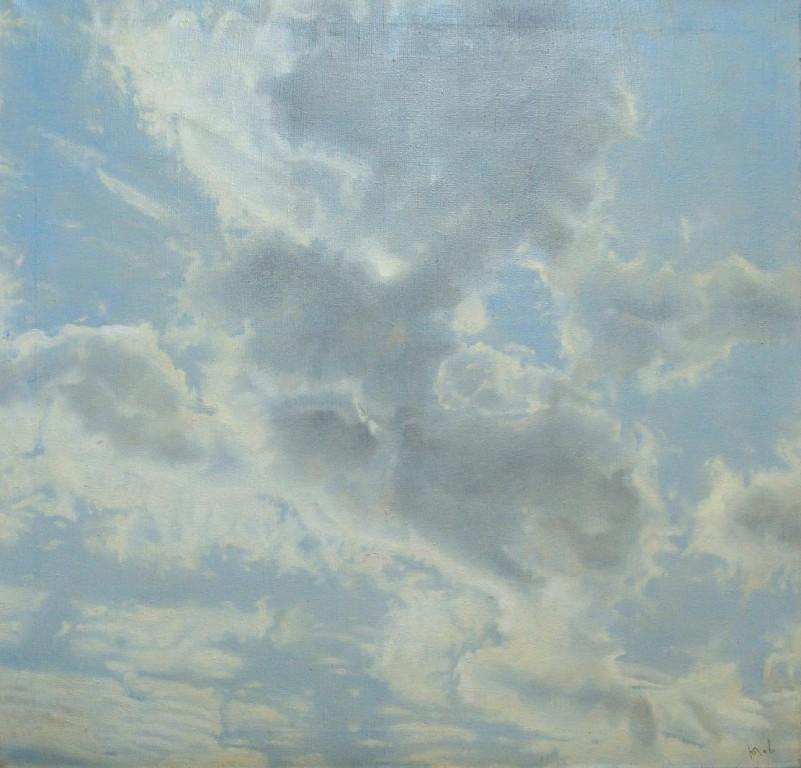 Облако.      2006 г. Холст, масло. 80х80 см.