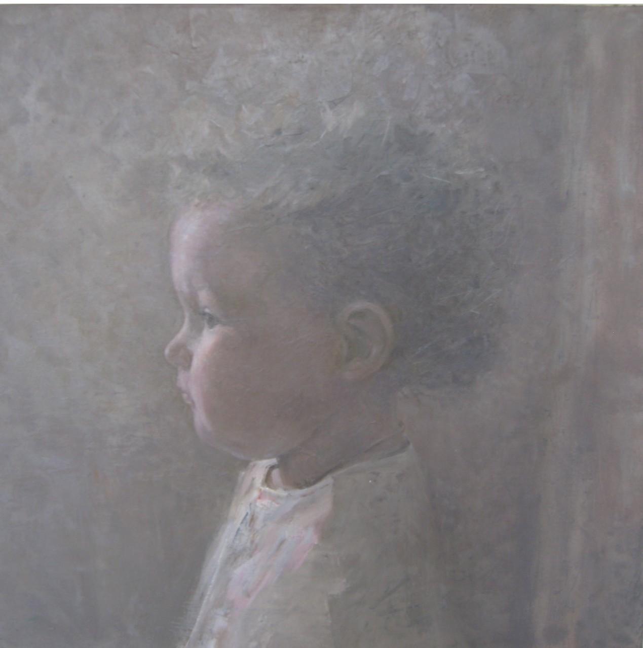 Алла Первушина.       Уля.          2007 г.          Холст, масло.    50х50 см.