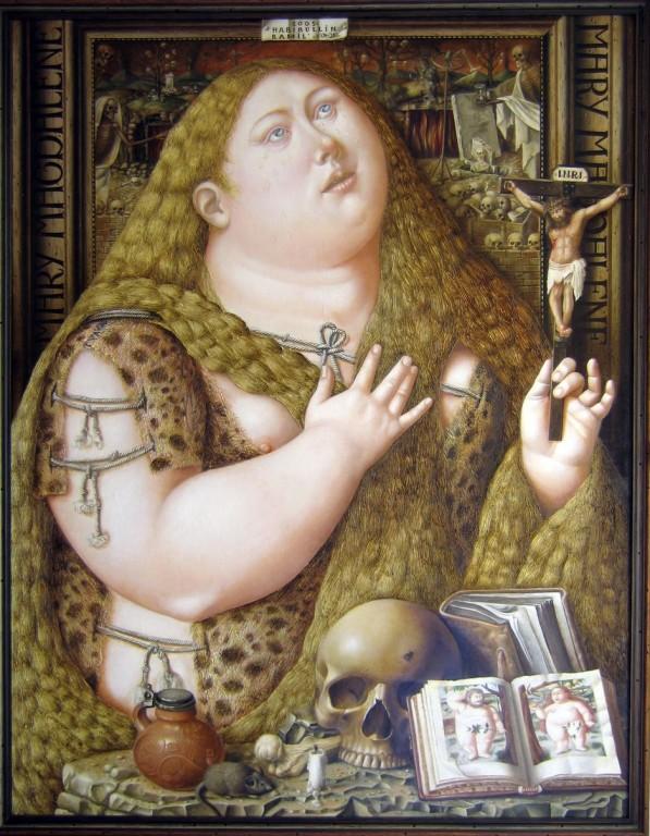 Мария-Магдалина.     2005 г. Холст, масло. 111,5х87 см.