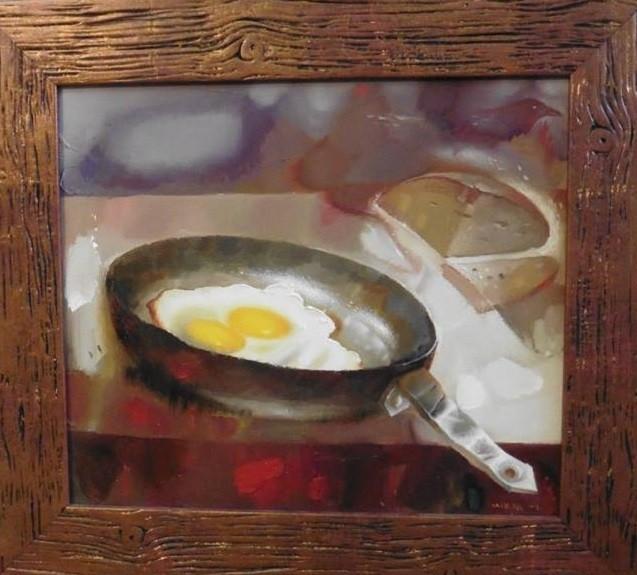 Мирза Мамедов.     Судьба.     2009 г.      Холст, масло.     30х35 см.