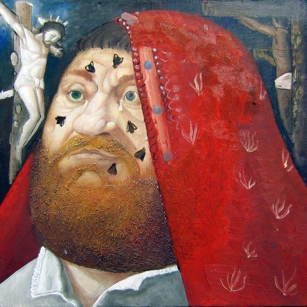 Портрет Иуды.     2006 г. Холст, масло.