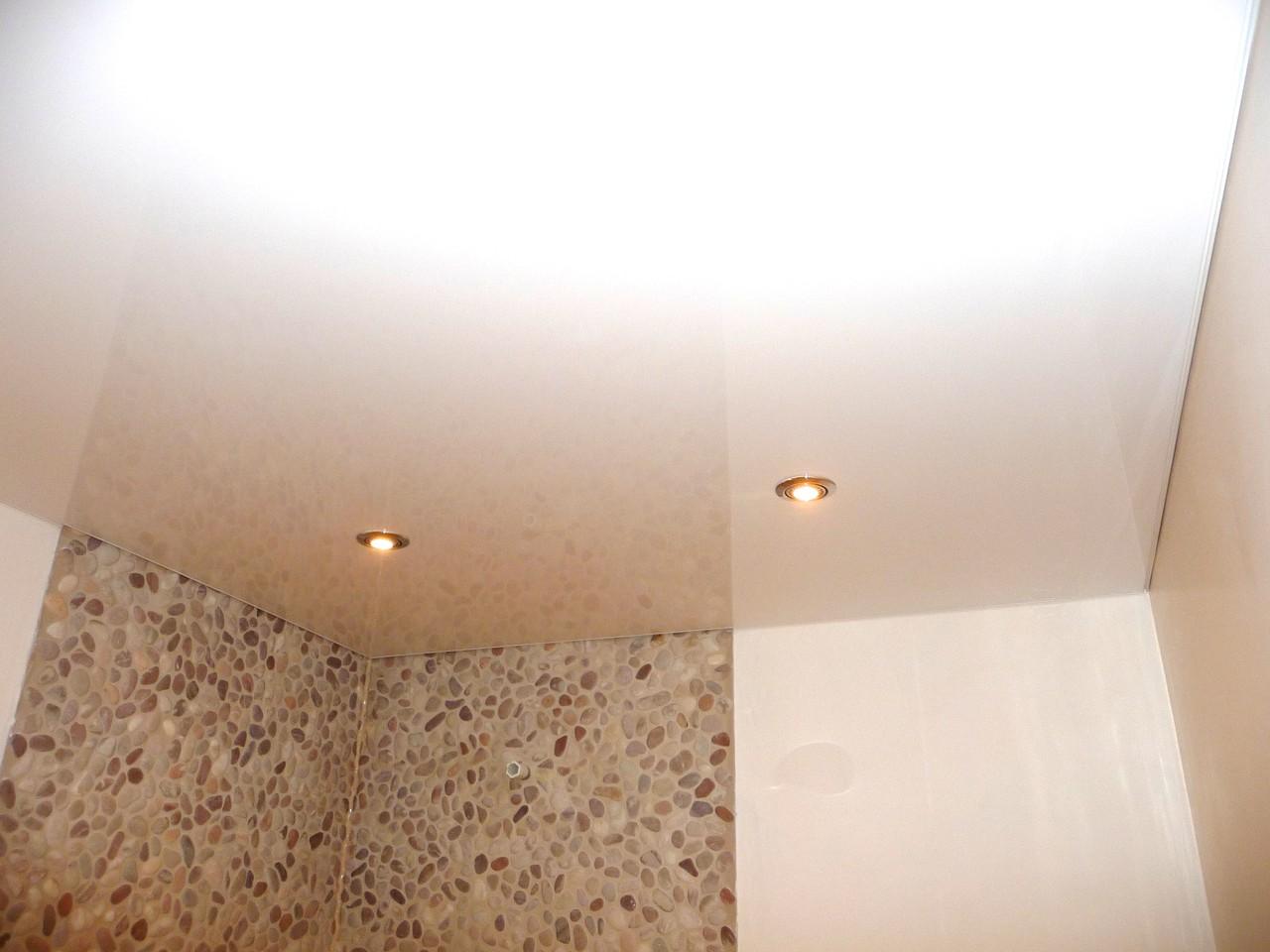 Spanndecke weiß Lack mit neuster LED Technik dimmbar!