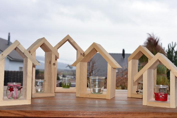 Holzhauschen Holz Und Licht Budik
