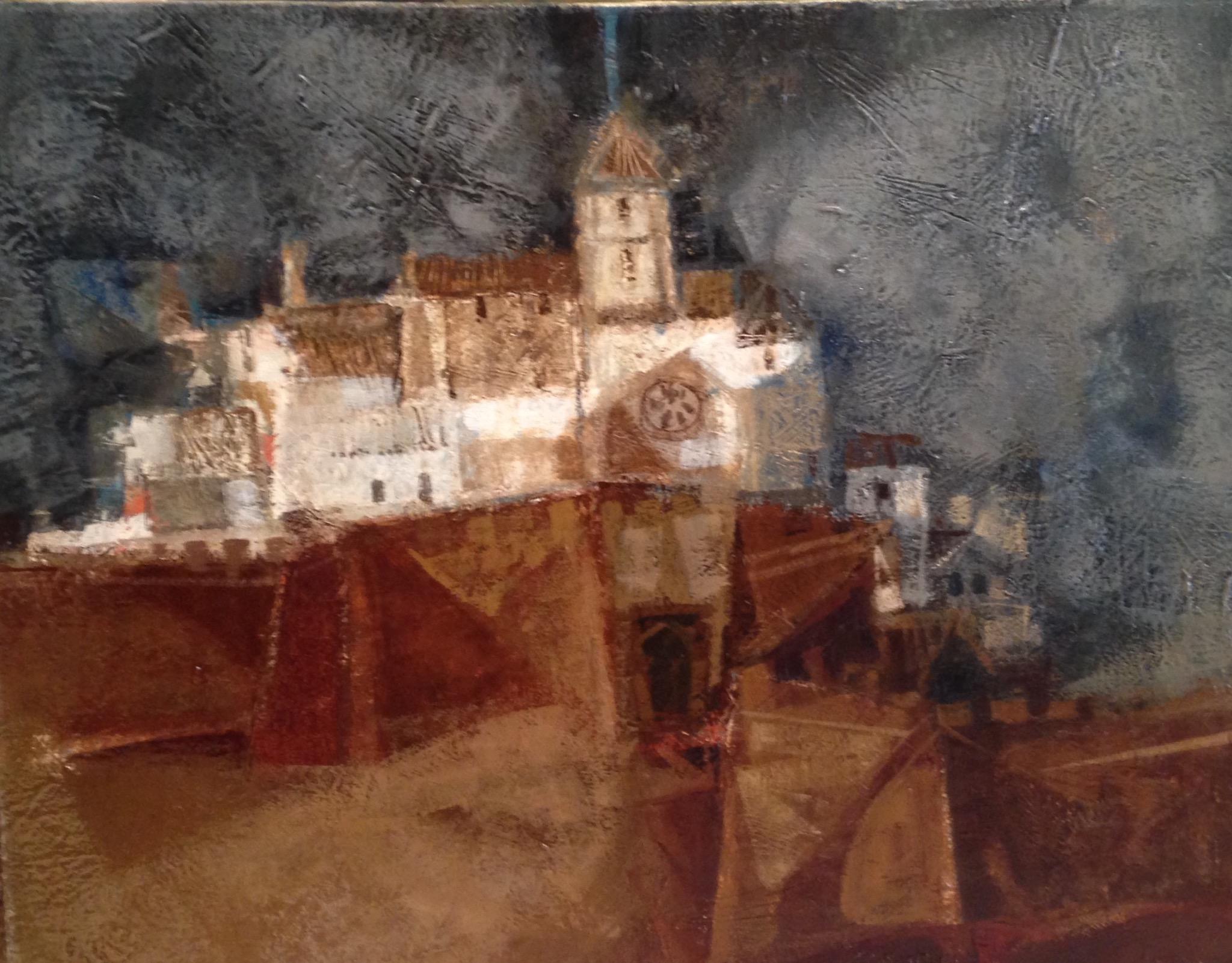 Alvar, huile sur toile ,signée