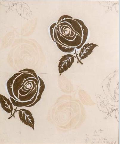 Raoul DUFY, gouache, cachet de la signature, 43 x 36 cm
