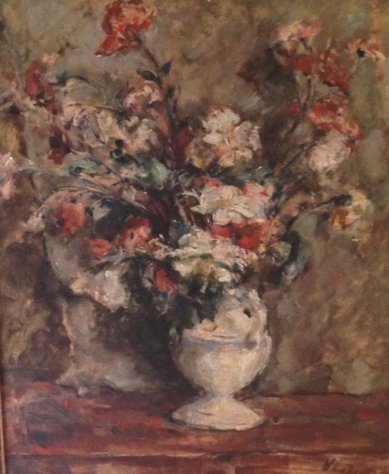 David Seifert, huile sur toile , signée