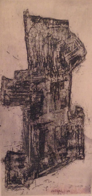 Francis BOTT, eau forte et aquatinte , signée
