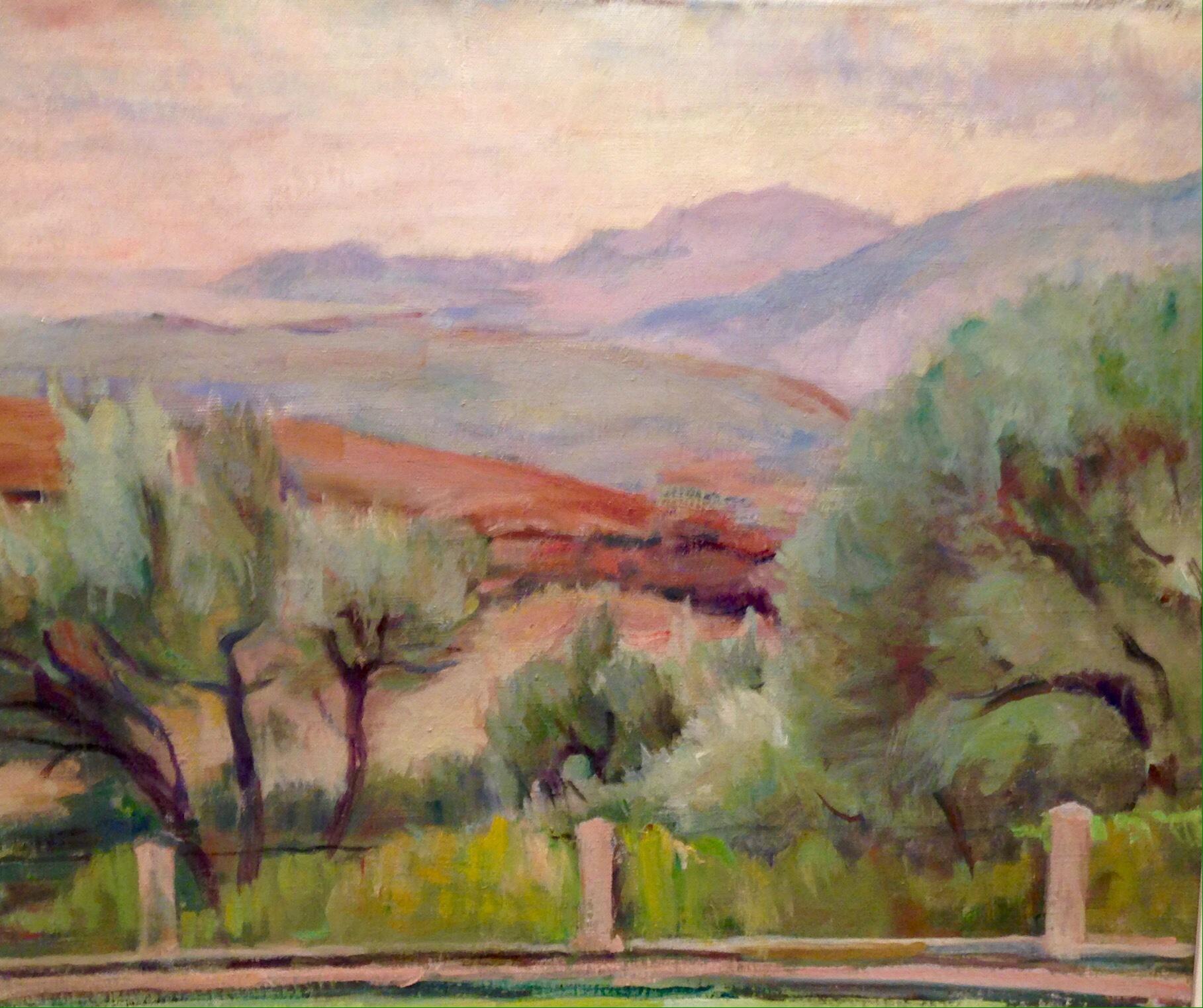 Adolphe MILICH, huile sur toile , signée