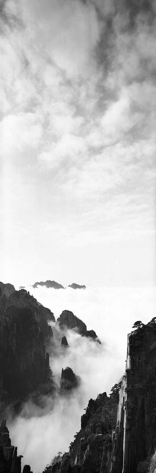 Zeng Nian, photo , signée et numérotée , 126,6 x 42,5 cm