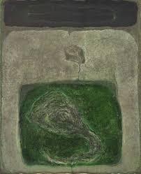 Satish Panchal huile sur toile expose à la galerie agnes thiebault