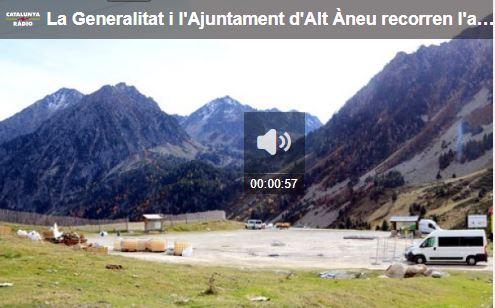 La Generalitat i l'Ajuntament d'Alt Àneu recorren l'anul·lació de l'ampliació de Baqueira