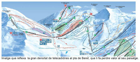IPCENA presenta al·legacions desfavorables al projecte de construcció del remuntador telecadira al Pla de Beret