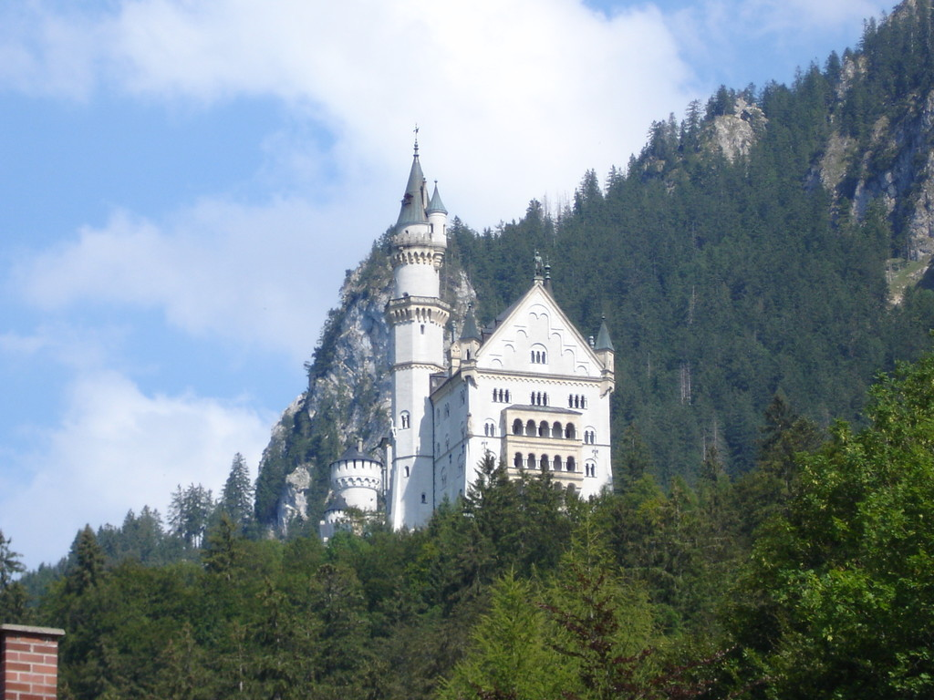 chateau en Bavière, Allemagne