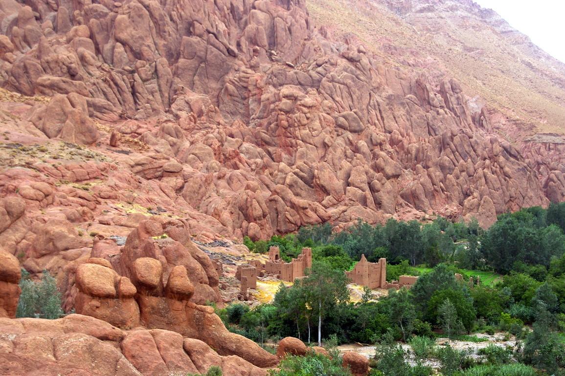 les doigts de singe, vallée du dades, Maroc
