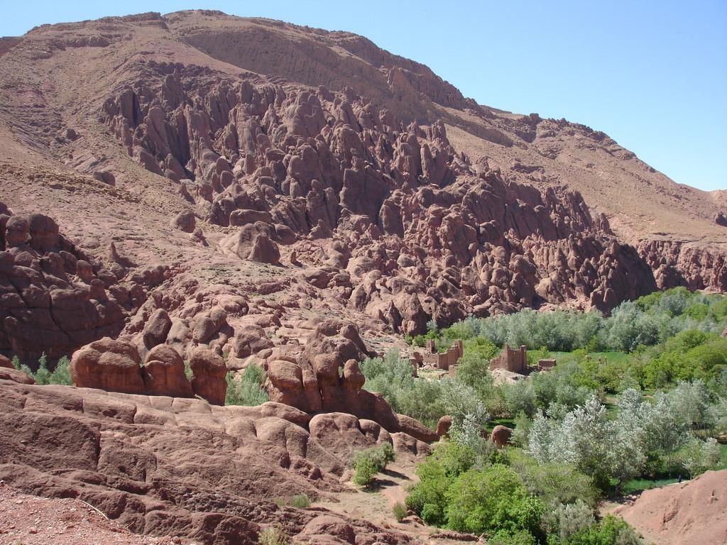 ksar , gorges du dades, Maroc