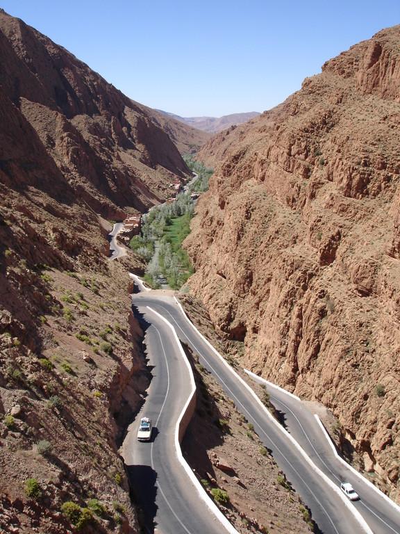 la vallée du Dades, Maroc