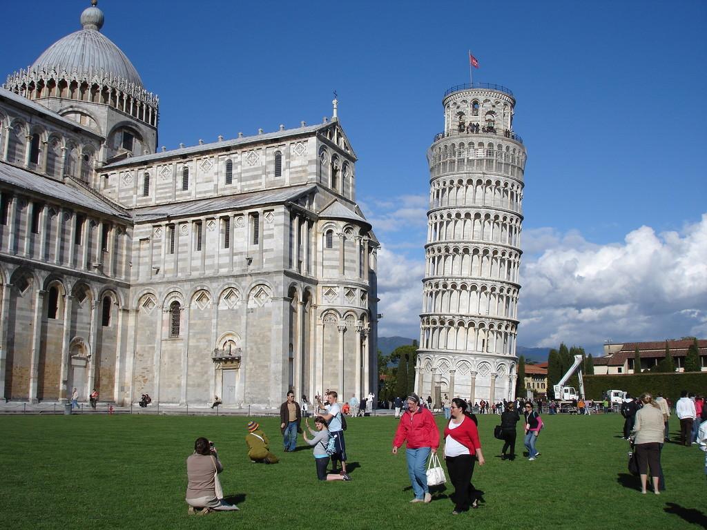 la tour de Pise, Italie