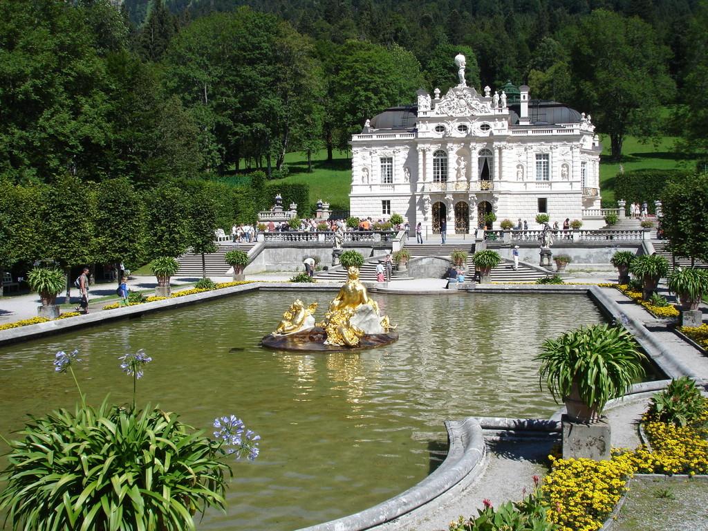 Chateau de linderhof, Bavière, Allemagne