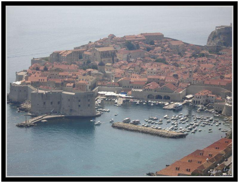 port de Dubrovnik, Croatie