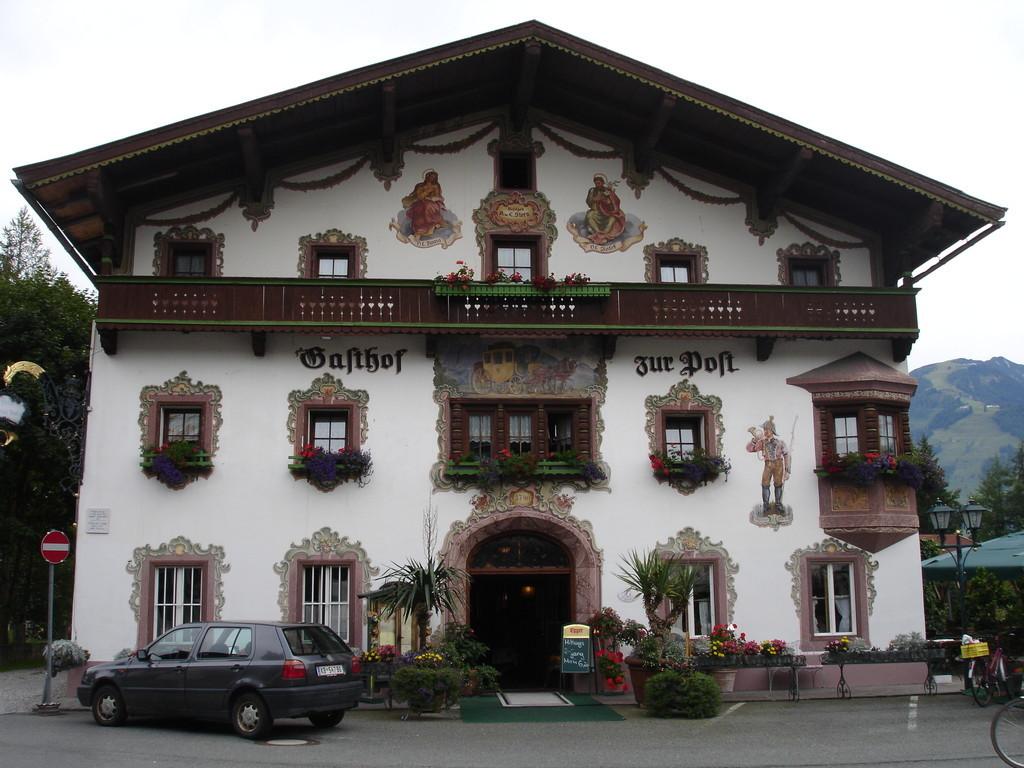 facade en Bavière, Allemagne