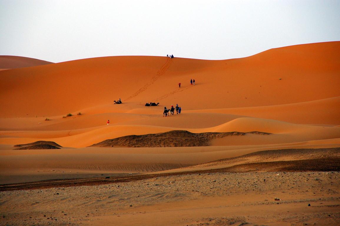 Dunes de Merzouga, Maroc
