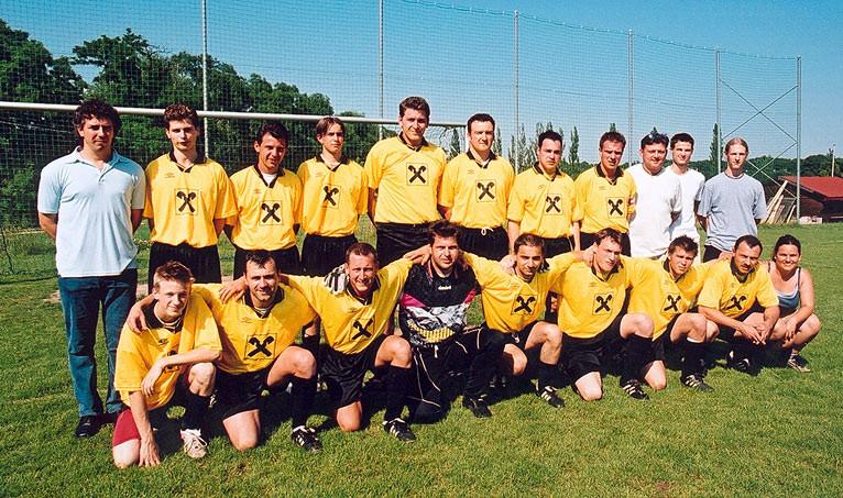 Mannschaft  2001/2002