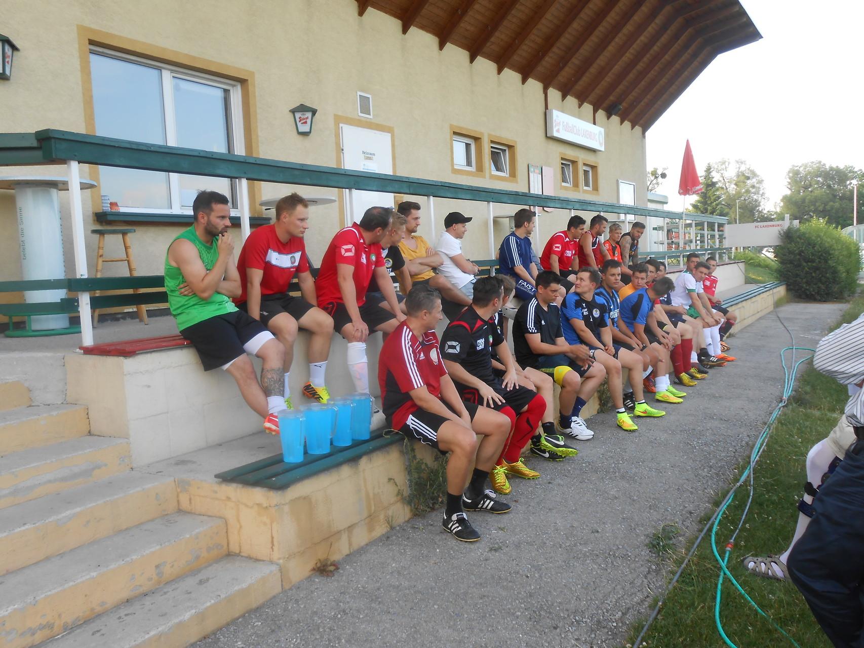 Juli 2014, erste Trainingsmomente