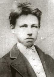 Rimbaud fotografato da Etienne Carjat