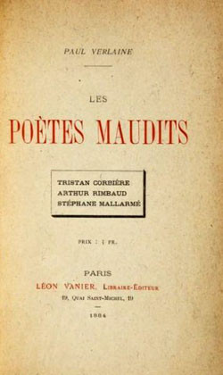 P. Verlaine, Le poètes maudits, Vanier 1884