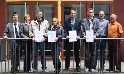 Marcel Rieger ist Sieger des Bundesleistungswettbewerbs für Textilreiniger Industrie