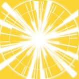 YELLOW FLOWER (黄色の個性) 輝く太陽。すごく目立つ存在なあなた。