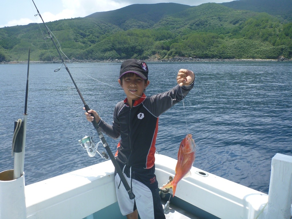 海釣り!!