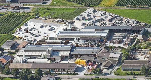 Produktion und Lager, Eyrs, Vinschgau, Südtirol