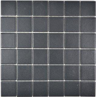 Mosaik antislip schwarz