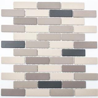 Mosaik Rutschfest beige grau