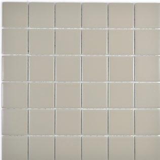 5x5cm Mosaik matt schlamm