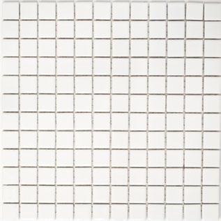 Mosaik 2x2cm weiss matt