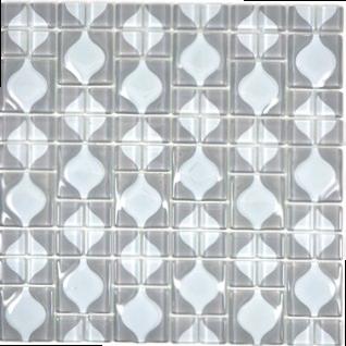 Kristallmosaik grau