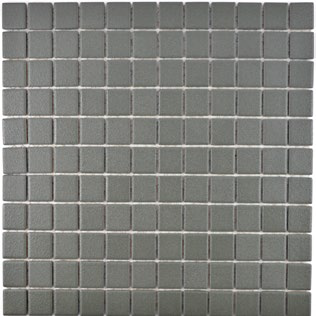 Mosaikfliese rutschhemmend grau
